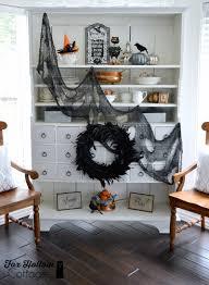 Halloween Home Decorating by Spooky Home Decor Halloween Outdoor Patio Decor Orange Flowers