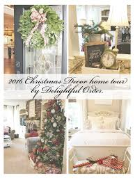 delightful order my 2016 christmas decor home tour