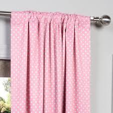Pink Polka Dot Curtains Half Price Drapes Boch Kc91b 84 Blackout Curtain Pink