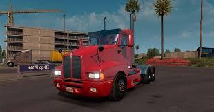 kenworth dealer kenworth t600 day cab truck american truck simulator mod ats mod