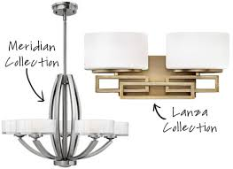 Lamps Plus Bathroom Lights Design Inspiration And Trends From Hinkley Lighting Lamps Plus