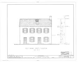 Dutch Colonial Floor Plans File West Marine Street Elevation Long Sanchez House 43