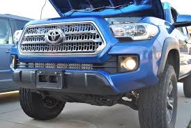 2017 tacoma light bar cali raised led 2016 3rd gen light bar brackets tacoma world