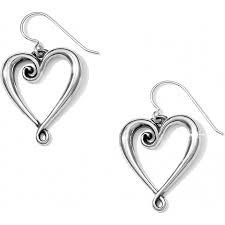 wire earrings whimsical heart whimsical heart wire earrings earrings