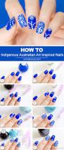 indigenous australian art inspired nails tutorial