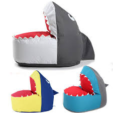 Shark Bean Bag Shark Shape Bean Bag Chair Lazy Sofa For Adults And Chilren Living