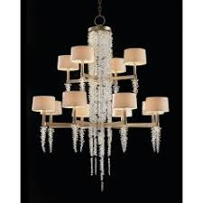 Cascading Chandelier by Cascading Crystal Waterfall Six Light Chandelier Chandeliers