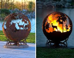 Metal Firepit 12 Beautiful Metal Firepits That Are Works Of Bored Panda