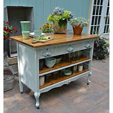 shabby chic kitchen island best 25 dresser kitchen island ideas on diy