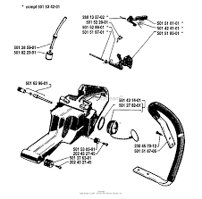 husqvarna 61 1981 02 parts diagrams