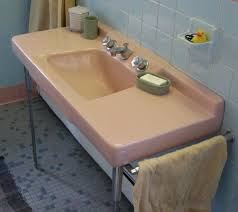 Vintage Bathroom Fixtures For Sale 50s Pink Sink Sinks Vintage Bathrooms And Vintage Sink