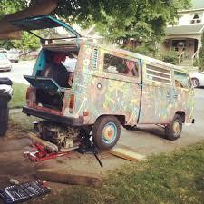 volkswagen hippie van hippie van engine rebuild againhippie van man