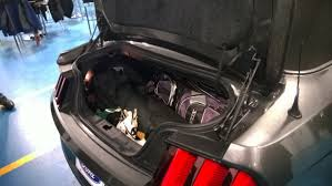 mustang convertible trunk 2015 ford mustang practical enhancements explained autoguide com