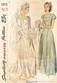 vintage wedding dress patterns 174 best sewing patterns wedding dresses images on