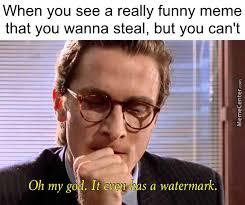 U Meme - tfw u steal a meme by the potato avenger meme center