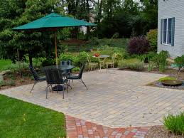 Average Cost Of Flagstone by How Much Does A Paver Patio Cost Garden Design Inc
