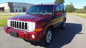 jeep commander for sale 2008 jeep commander overland 4x4 for sale leather dvd navi loaded