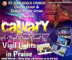 Burial Invitation Card Gospel Musical Concert St John Bosco Church Borivali