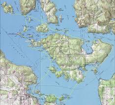 Seattle Ferry Map by Shaw Island Kayak Trip San Juan Islands
