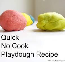 printable playdough recipes quick no cook playdough recipe taste safe