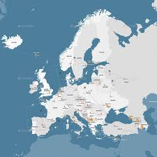 map europe vector europe retina vector map by videosova graphicriver