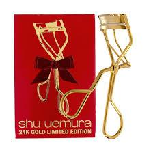 shu uemura 24k gold eyelash curler beautylish