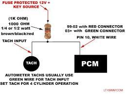 gm tach wiring wiring diagram simonand