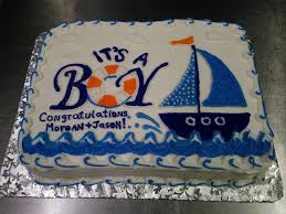 baby shower cake it u0027s a boy cleveland catering