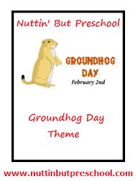 groundhog coloring nuttin u0027 preschool