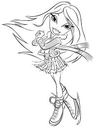 Bratz Coloring Pages Learn To Coloring Bratz Coloring Pages