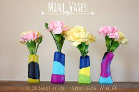 Mini Bud Vases Mini Vases A Handmade Winter Ebook Tour Buzzmills