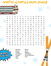 free winter games word search u2013 children u0027s ministry deals