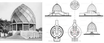 the deutscher werkbund bruno taut glass pavilion cologne 1914