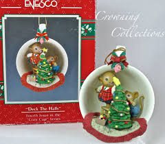 enesco cozy cup deck the halls mice treasury of ornament