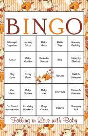 43 best baby shower bingo images on pinterest baby shower bingo