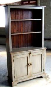 rustic kitchen hutch would make an awesome coffee bar diy