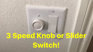 wall fan controller knob replacement installing a wall switch 3 speed for ceiling fans youtube