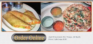 az cuisine udupi indian vegetarian vegan cuisine order tempe az