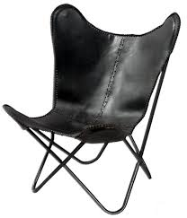 Leather Lounge Chair Fashion N You Leather Butterfly Lounge Chair Reviews Wayfair