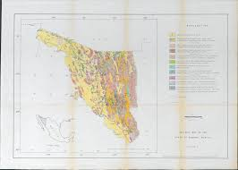 Uofa Map Economic Geology Of The Alamos Mining District Sonora Mexico