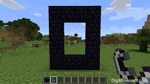 Minecraft Stairs Design How To Make A Nether Portal In Minecraft