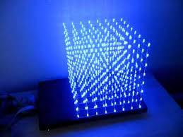 led cubes led cube 8x8x8 demo