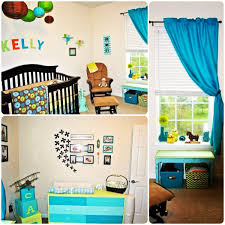 my sons nursery baby boy room blue lime green turquoise orange
