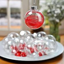 clear plastic ornaments acrylic fillable ornaments craft