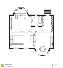 home interior design drawing architecture design house interior