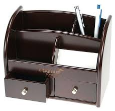 Executive Desk Organizer Clean Up Your Desk Desktop Organizer With Two Drawers China