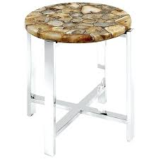 faux agate side table side table agate side table full size of slice cool faux
