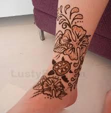 henna tattoos foot lustyfashion