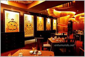 decorations interior fancy restaurants interior with wooden