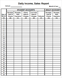 Daily Report Sheet Template Service Report Template Customer Service Report Template Pdf